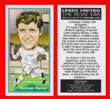 Leeds United Norman Hunter England 4